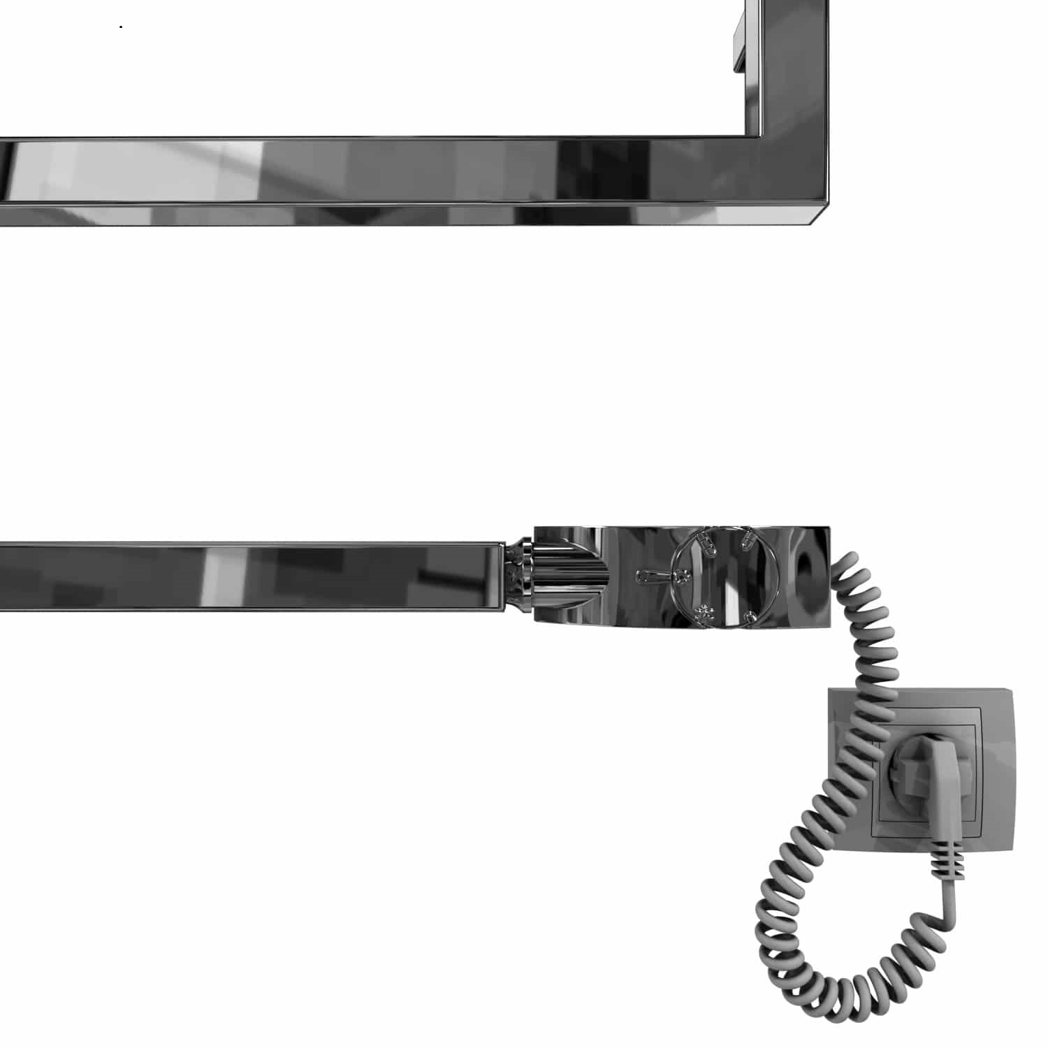 Connecting the electric towel warmer
